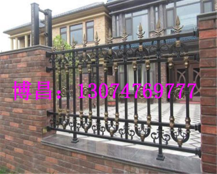 呼和浩特铝艺庭院围栏