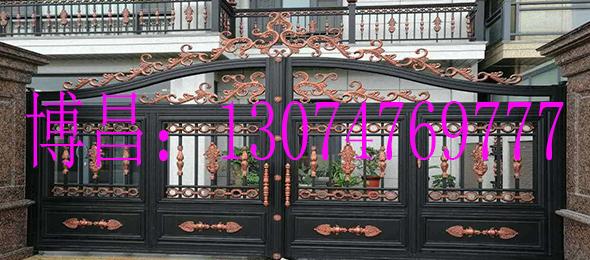 铝艺大门对比铜门跟铁艺门有什么不同之处?