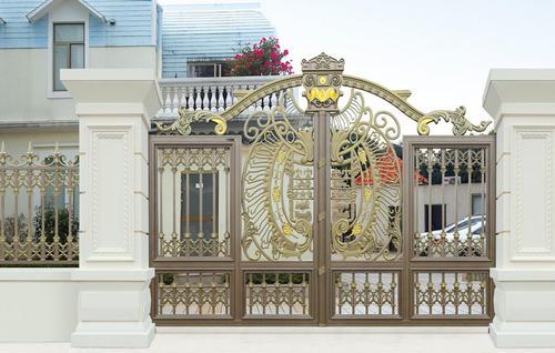 铝艺别墅庭院门的优点有哪些