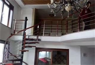 铝艺楼梯安装