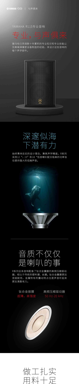 雅马哈R115南阳舞台音响功放系列