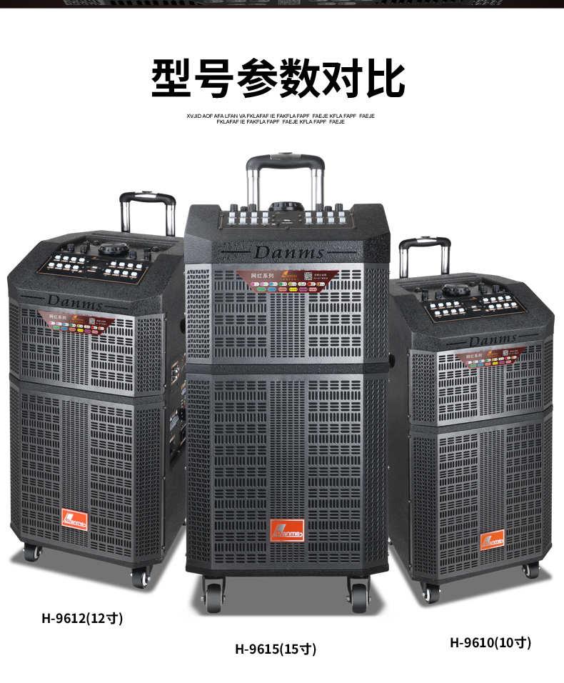 丹唛仕  H-9615(15寸 )