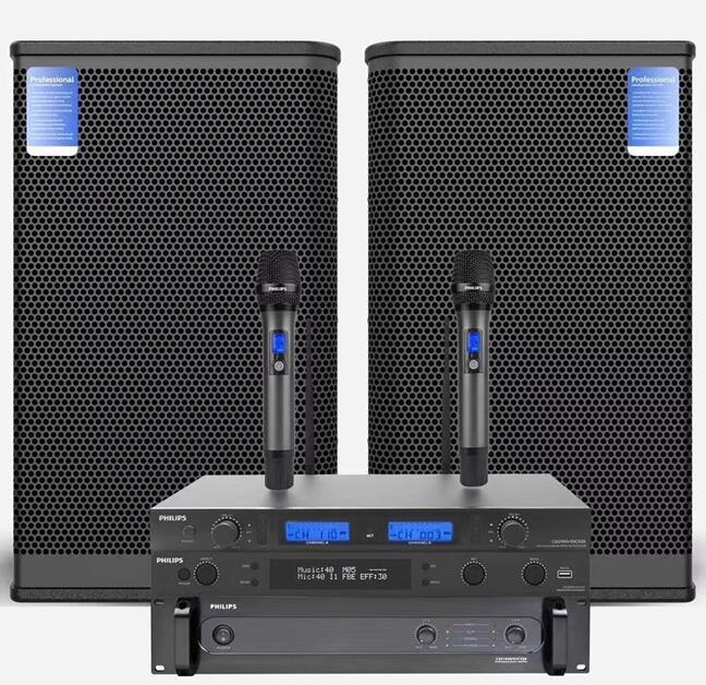 专业音响12寸套装 CSS1512/93CX12音箱 CSS1950/93CX80功放 css1900/93cx01处理器 css1700/93cx50话筒套装