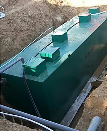 30td一體化汙水處理設備案例