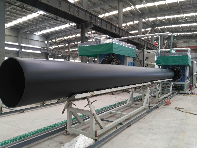 高密度聚乙烯管生产车间