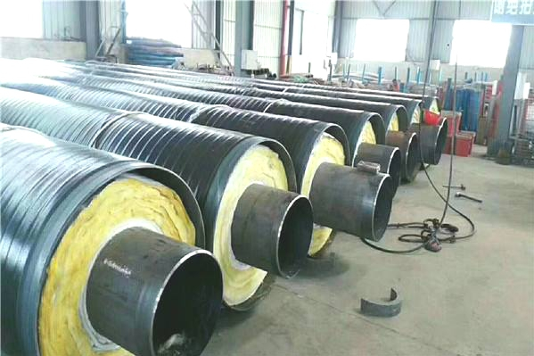 钢套钢复合预制直埋保温管厂家