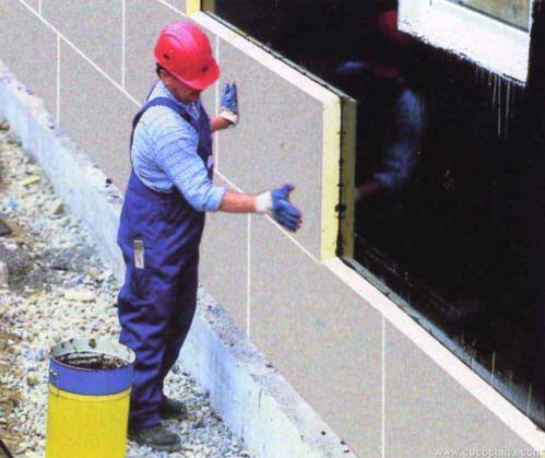 陕西聚氨酯外墙保温板施工案例