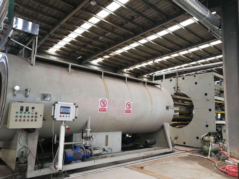 聚氨酯预制直埋保温管生产车间