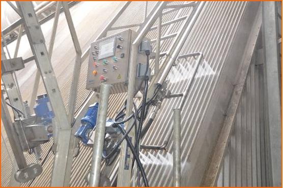 中标华能国际铜川照金电厂#1机组威尼斯平台登录喷淋改造工程