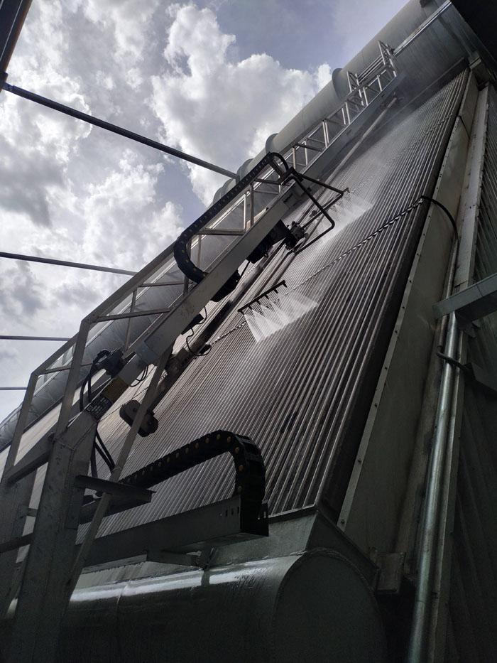 中标京海煤矸石发电有限公司2X300MW空冷岛自动冲洗改造工程