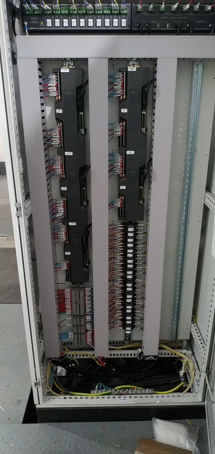 空冷岛冲洗之DCS远程控制柜