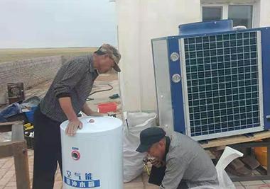 蒙嘉欣新能源与杭锦旗伊和乌素三大队牧民合作案例
