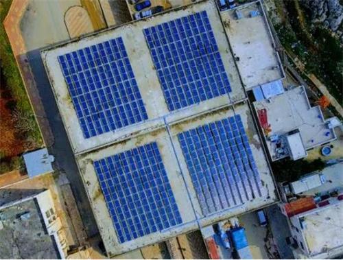叙利亚境内的太阳能发电站