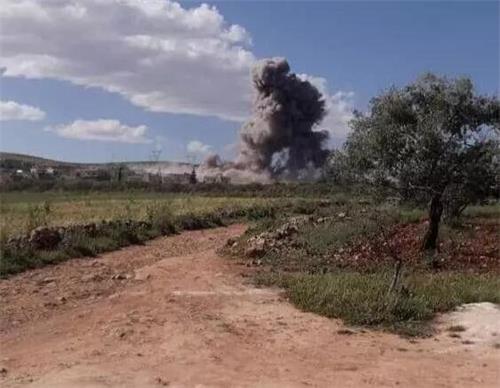 苏34轰炸现场
