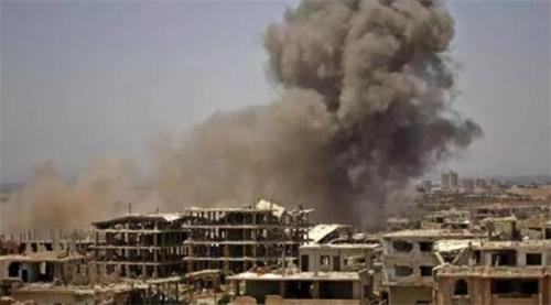 叙利亚空袭不断