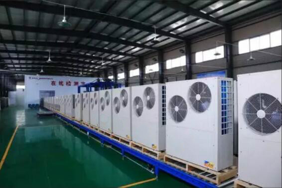 热泵与低温热水地暖系统