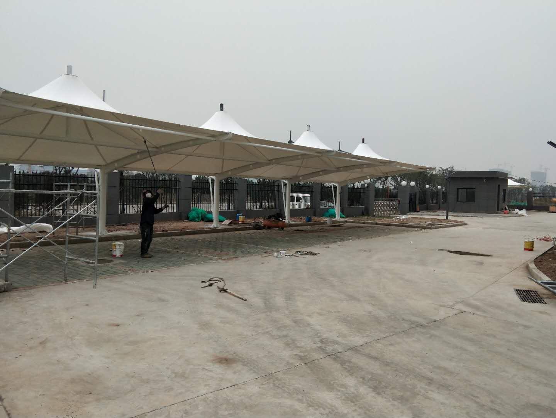 咸阳窑店备用水厂停车棚