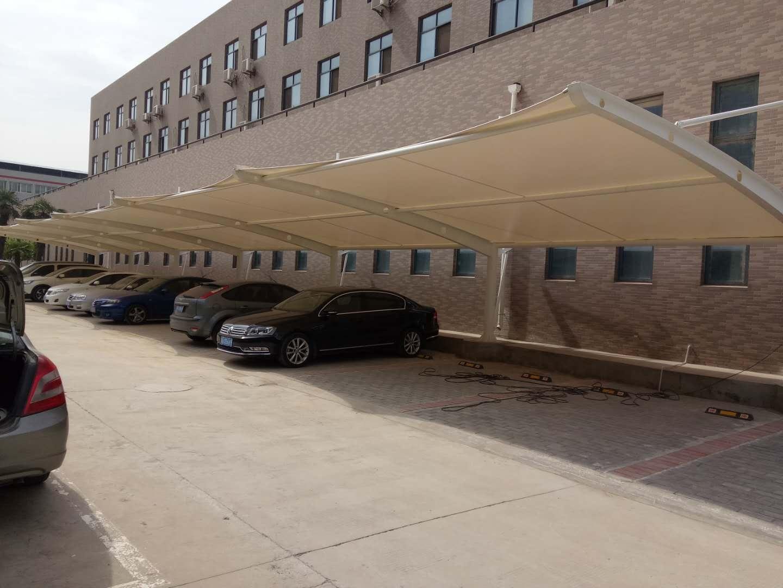 西安技师学院膜结构车棚