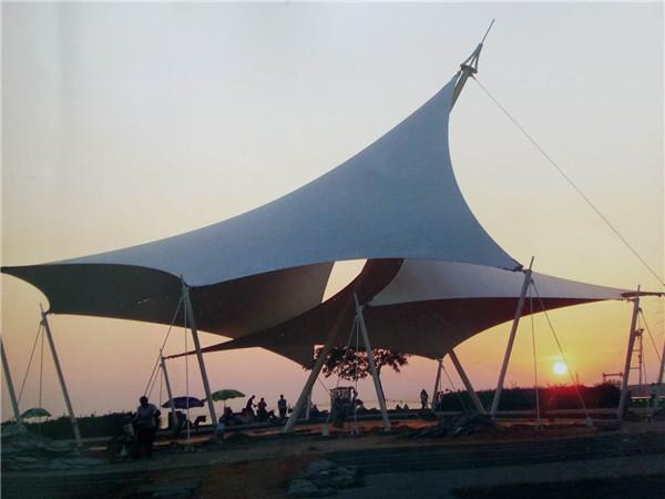 户县大王公园景观膜结构