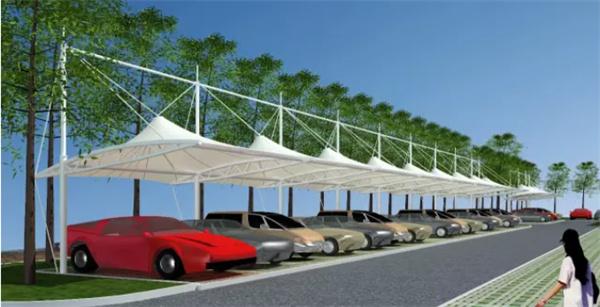 为什么膜结构车棚越来越受欢迎呢?
