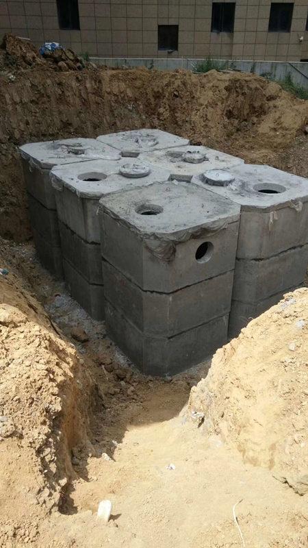 组合式化粪池施工