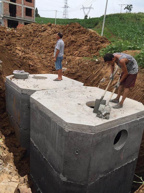 陕西组合式化粪池施工
