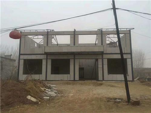 漢臺區老君農家自建小別墅墻板由漢中綠地公司供應