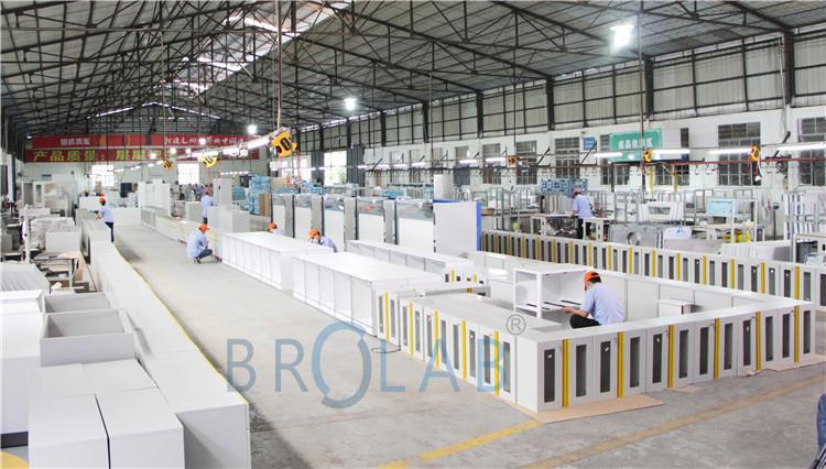 博尔实验室设备生产工厂实景