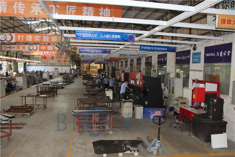 博尔实验室家具设备生产车间展示