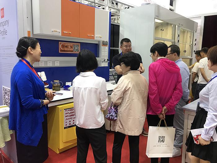 TMOON品牌受邀参展西安交大创新港实验室建设装备展示会