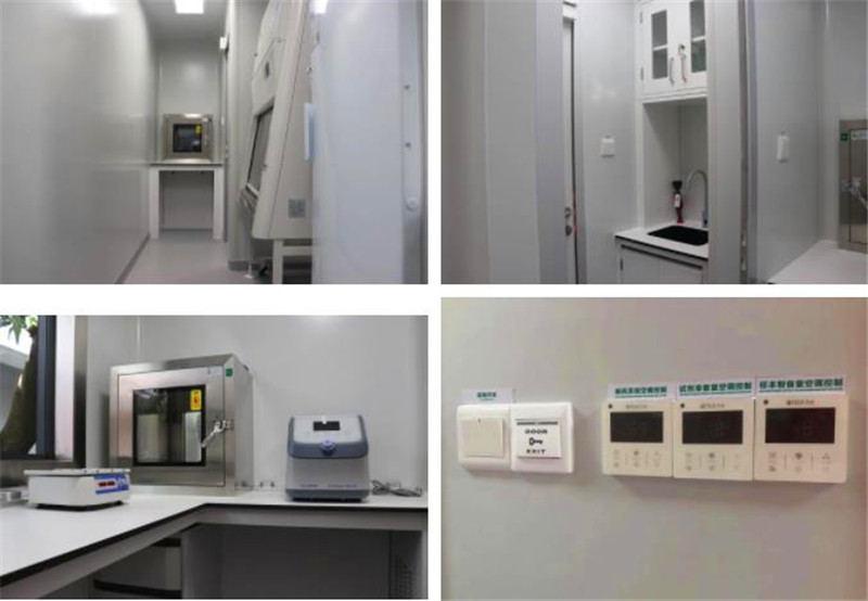 移动PCR方舱实验室内实验台柜如何配置?