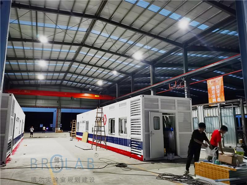 方舱实验室建设厂家-可移动方舱门诊整体设计方案