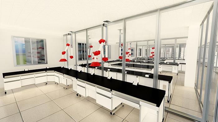 实验室通风装置-万向抽气罩