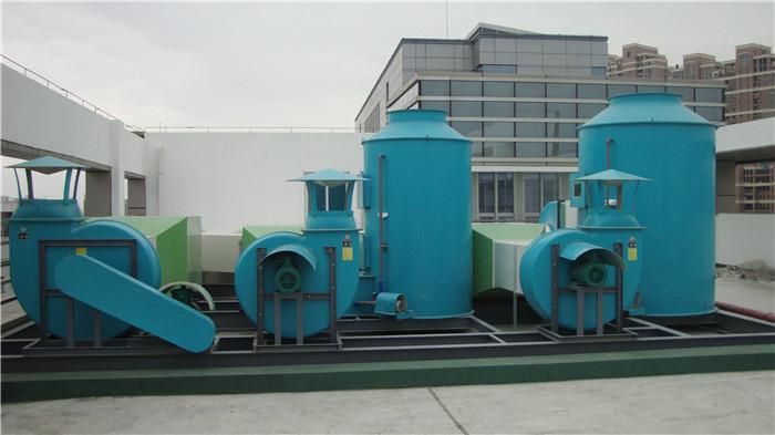 實驗室通風系統案例:福田環境檢測