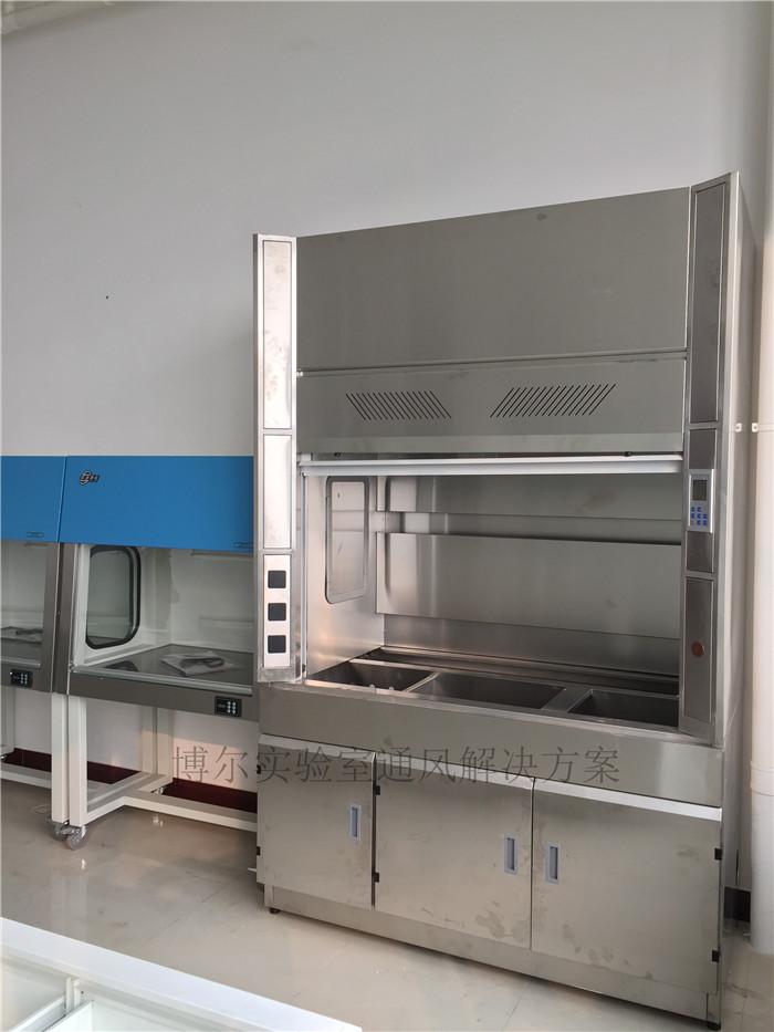 实验室不锈钢通风柜厂家规格配置