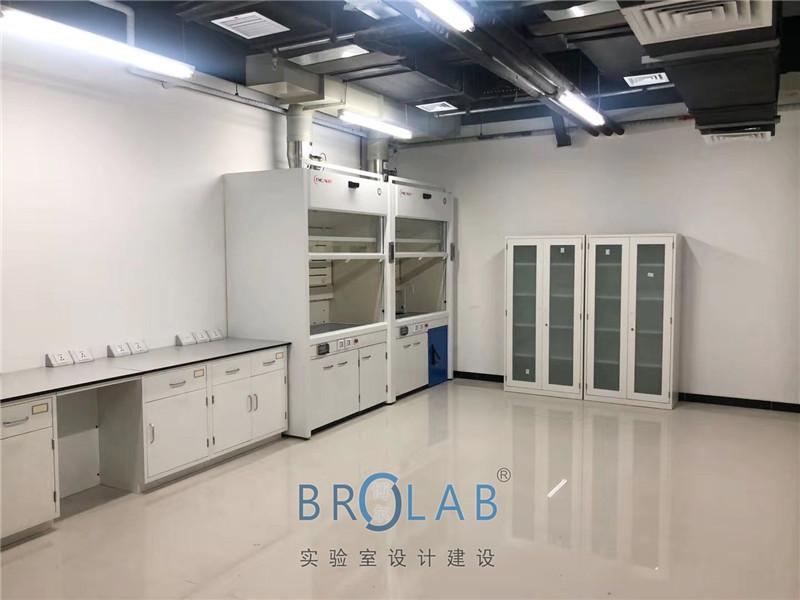 北京某特种实验室建设-TMOON实验台通风柜应用案例