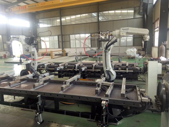 自动化机械手臂加工生产展现