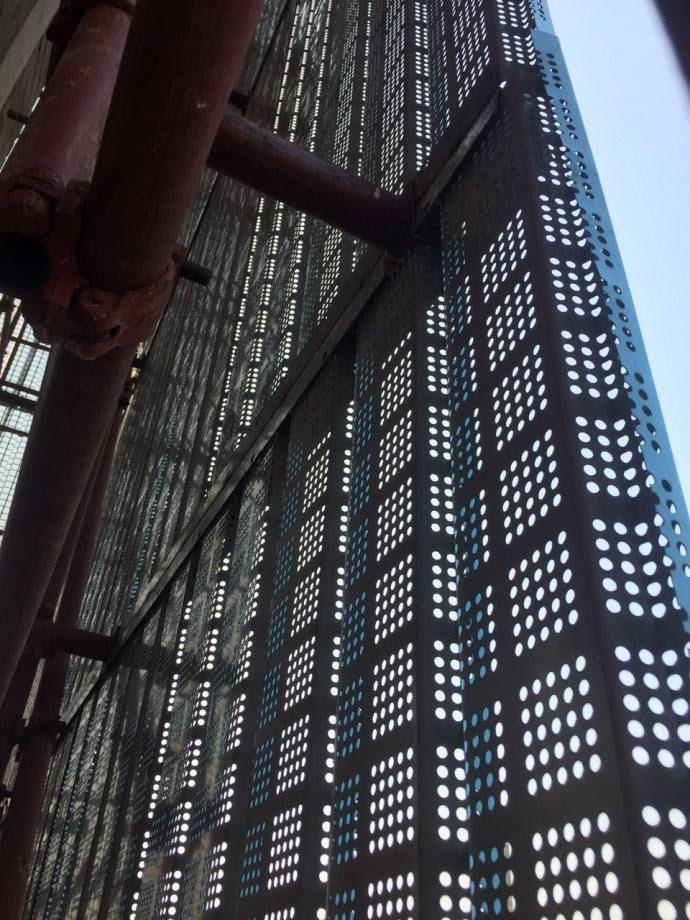 脚手全钢爬架网片  尺寸可定制