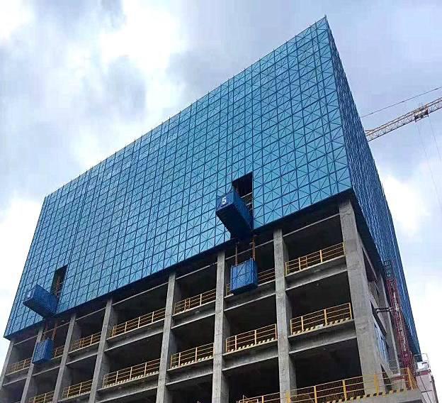 全钢建筑爬架 绿色施工 安装方便
