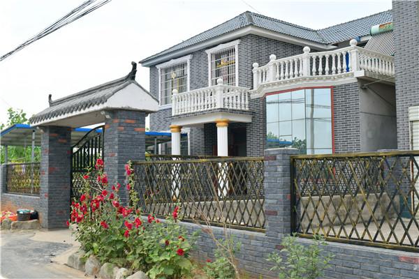 湖北柔性饰面砖仿古砖 美丽乡村案例