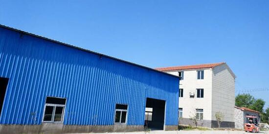 湖北万祺新型材料有限公司厂房
