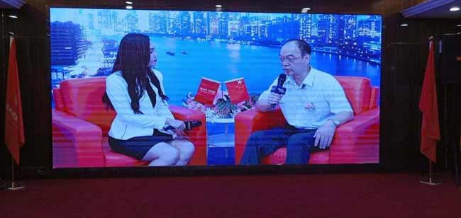 湖北万祺新型材料有限公司高海清董事长参加中央电视台品牌《溯源》栏目