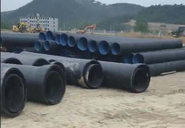 湖北波纹管及中空壁管管网安装工程
