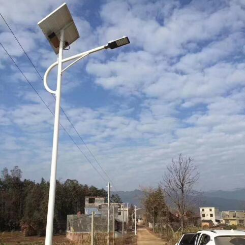 武汉太阳能路灯安装