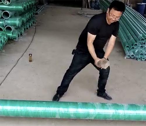 武汉玻璃钢管运往孝感