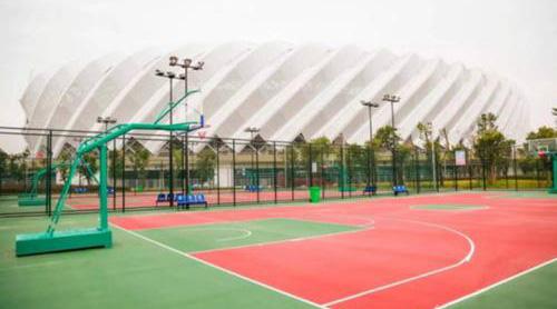 学校体育场地坪案例