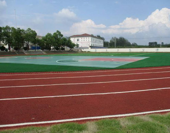 成都运动地坪案例-学校体育