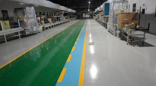 机械行业—环氧树脂地坪案例