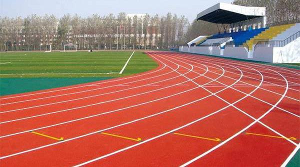 学校体育场—成都密封固化剂地坪案例