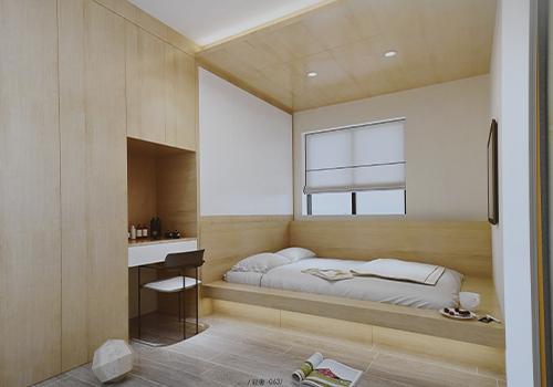 现代轻奢风卧室设计展示
